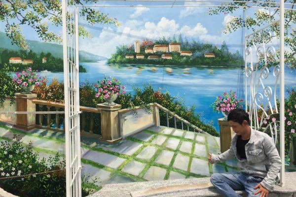 Ưu điểm của vẽ tranh tường phong cảnh đẹp mới nhất 2020
