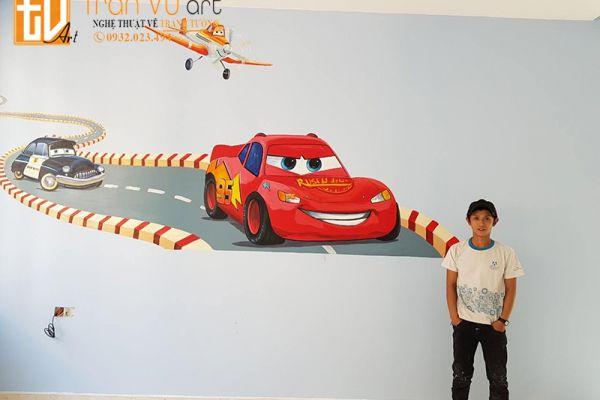 Vẽ tranh tường mầm non, nhà trẻ giá rẻ
